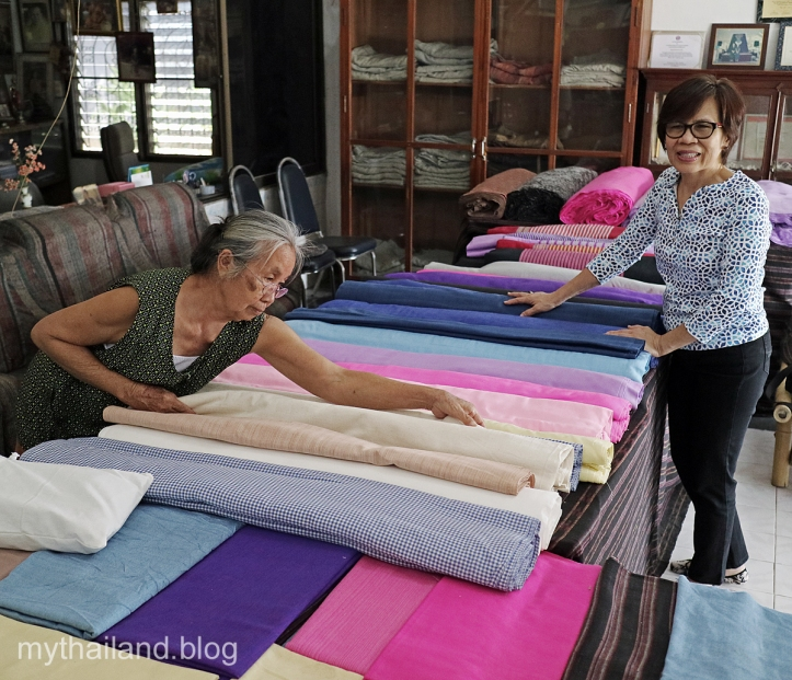 Handwoven fabrics in Thailand