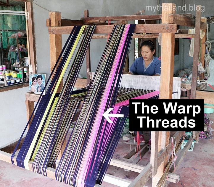 Hand weaving in Thailand