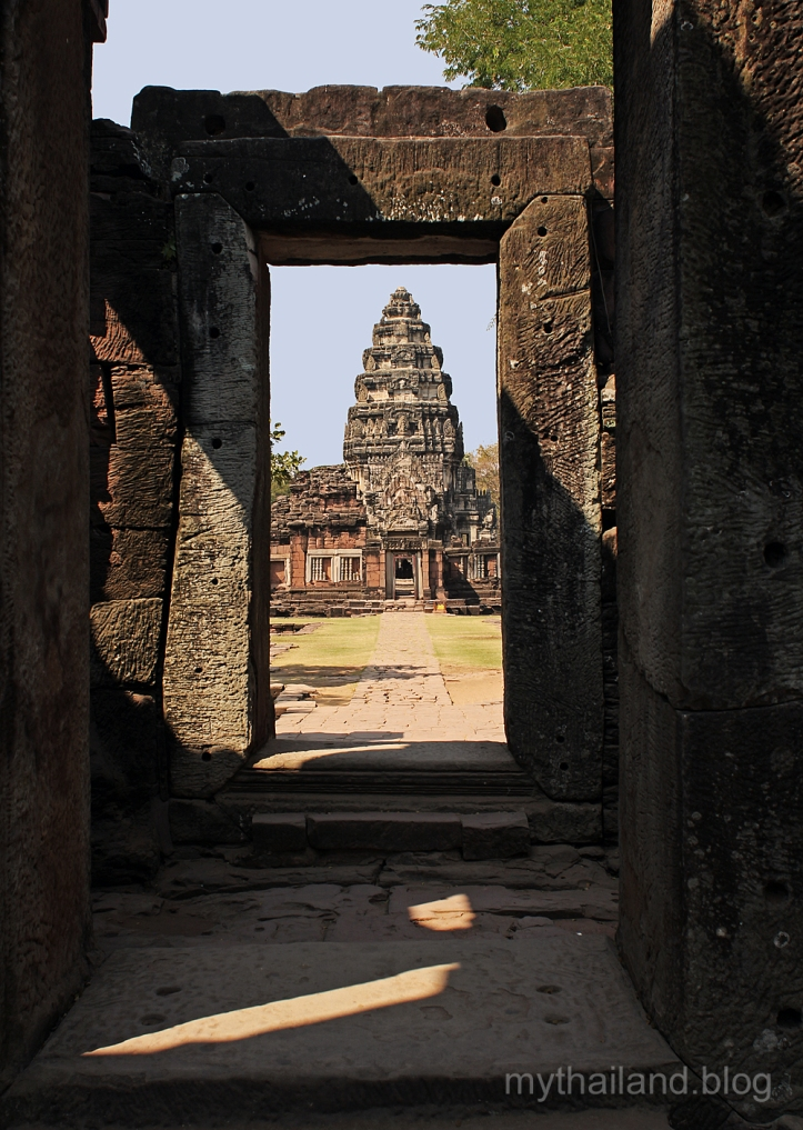 Khmer ruins in Isaan, Thailand