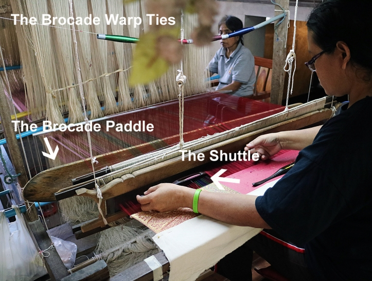 How to Brocade Thai silk