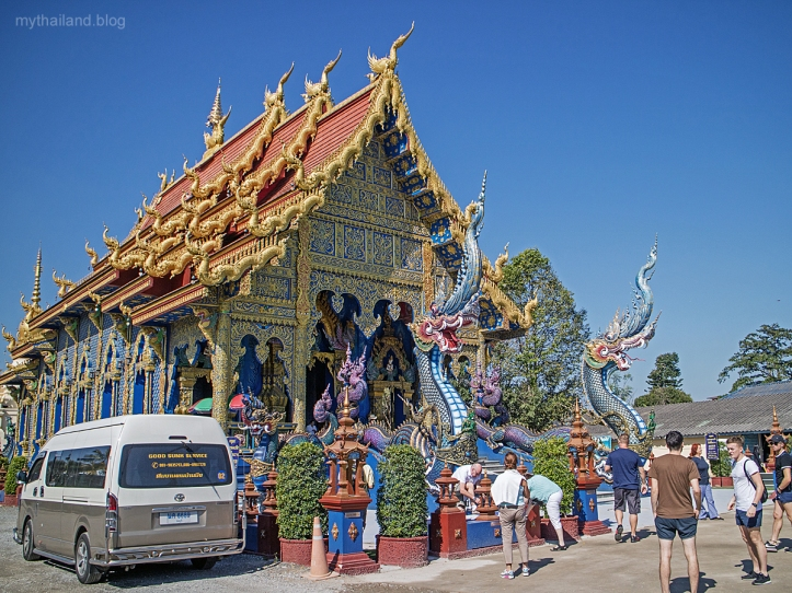 Nagas at Wat Suea Ten