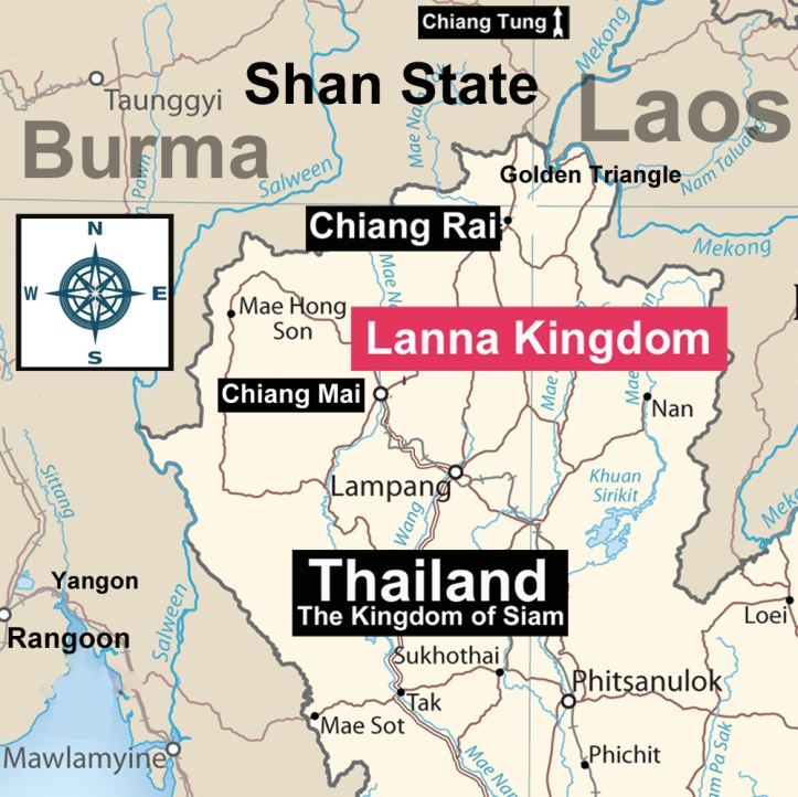 Chiang Rai Map