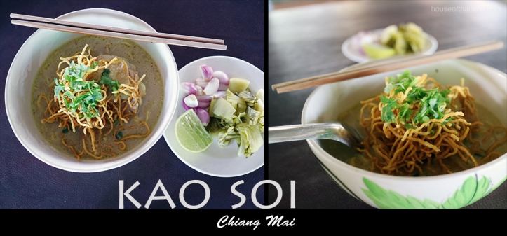 Northern Thai Food Kao Soi