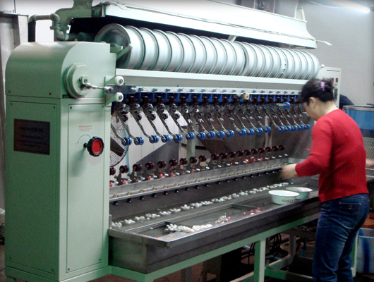 A Commercial Silk Reeling Machine