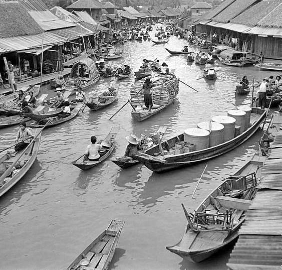 Bangkok Klong 1950